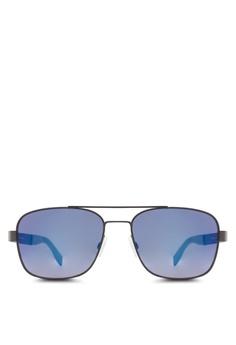 af7232680d Boss Orange black Navigator Sunglasses BO434GL80HSDMY 1