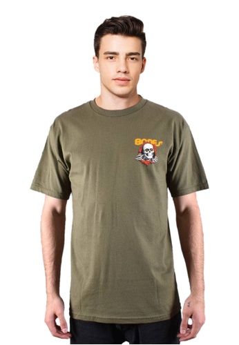 Powell Peralta green Powell Peralta Ripper T-shirt - Military Green 7780EAAEF4F85FGS_1