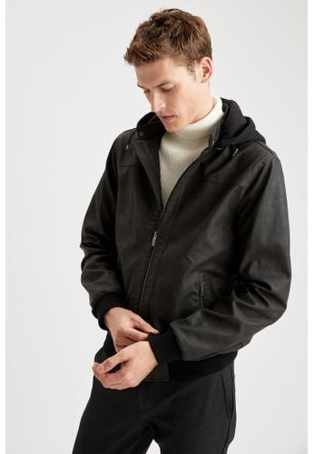 DeFacto grey Man Outer Wear Mont B3237AA1CDB0BFGS_1