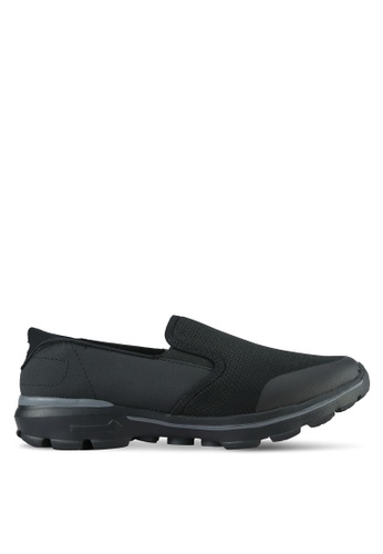 UniqTee black Lighweight Slip-On Sporty Sneakers UN097SH0S21JMY_1