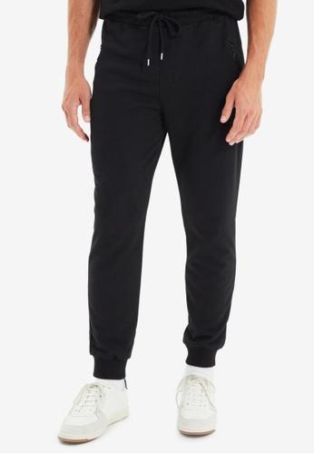 Trendyol black Black Jogger Pants 70F84AAD4E56C3GS_1
