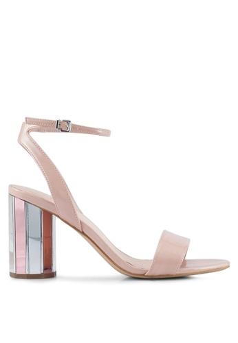 ALDO pink Ariani Heeled Sandals 5ED15SH6D660DAGS_1