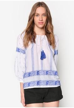 Santorini Embroided Shirt
