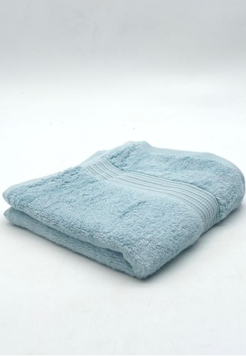 CANOPY LUXE blue Hydrocotton Hand Towel 15E3FHL30C1072GS_1