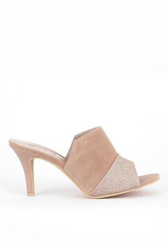 7soles beige Veronica L Slide Heels E451FSH5026F02GS_1