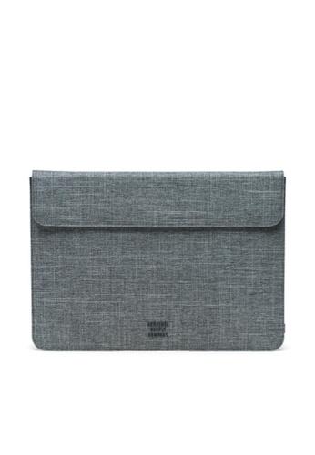 """Herschel grey Herschel Spokane Sleeve MacBook - MacBook Pro 15"""" (all sizes) E1F1FACBE8C888GS_1"""