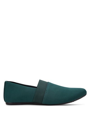 UniqTee green Classic Textile Loafers UN097SH77RDIMY_1