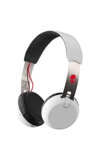 SkullCandy white Grind Wireless Headphones SK811AC74QFLPH_1