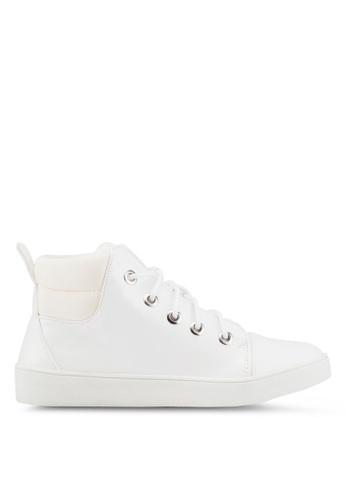 Carlton London 白色 高筒運動鞋 7C846SHE9991DDGS_1