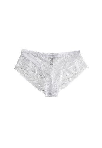 QuestChic 白色 阿娜絲塔西亞蕾絲內褲 D4B75USBFC4E19GS_1
