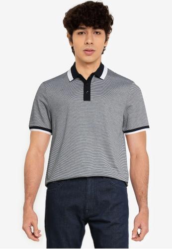 BOSS 藍色 Phillipson Polo Shirt - BOSS Men BB73DAAB7EE6D5GS_1