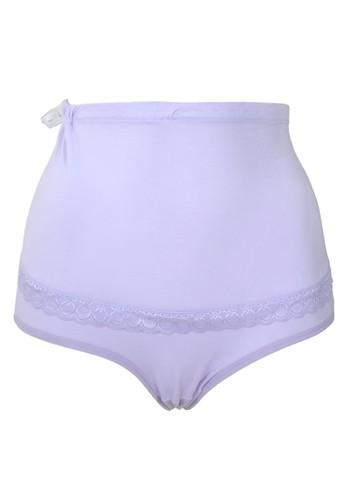 Cynthia purple Modern Mom-Maternity Cotton Briefs-Purple CY646US0VXEDID_1