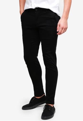 High Cultured black Long Pants-121 7B2DCAA0A88B22GS_1