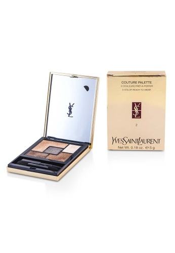 Yves Saint Laurent YVES SAINT LAURENT - Couture Palette (5 Color Ready To Wear) #02 (Fauves) 5g/0.18oz A72F8BEDA8DE5DGS_1