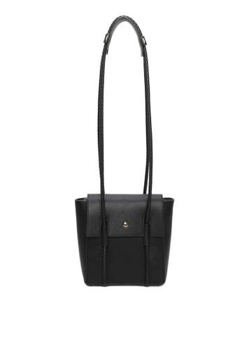 Milliot & Co. 黑色 Genesis Shoulder Bag 51FF6ACD3F54D4GS_1