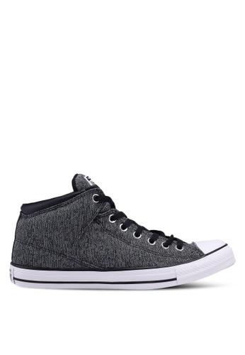 Converse black Chuck Taylor All Star High Street Var-City Hi Sneakers B2804SH23D86B4GS_1