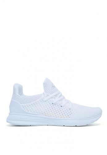 ACCEL white RN Ryden Running Shoes 1A2D6SH89E196CGS_1