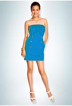 Devidasi Blue Beverly Bow Dress
