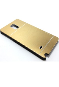 Samsung Galaxy Note 4 Ultra Sleek Metal Case (Gold)