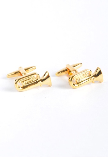 Splice Cufflinks Brass Band Tuba Cufflinks SP744AC88XZRSG_1