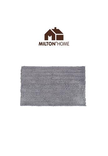 Milton Home SET OF 3 Milton Home Ripple Tufted Bath Mat with Anti Slip coating 40 x 60cm / 336g 2BD53HLFAC7C23GS_1