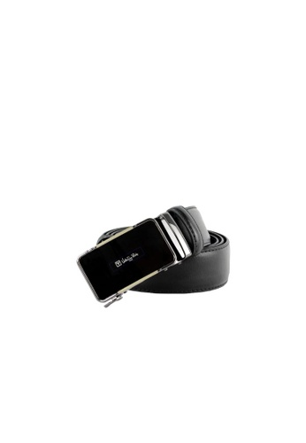 Valentino Rudy black Valentino Rudy Italy Men's 36mm Leather Auto Gear Buckle Belt 0463002-323 7705EAC62DB4E6GS_1