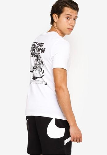 Nike white Men's Nsw Air Gx Tee 5D080AADB56990GS_1