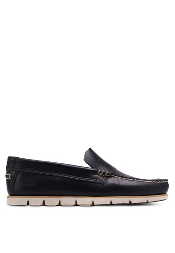 Timberland navy Tidelands Venetian Shoes 0026CSHE43550AGS_1