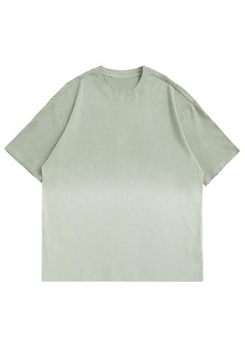 Twenty Eight Shoes Gradient Dip-Dyed Short T-shirt 5329S21 9951EAA15B0A72GS_1