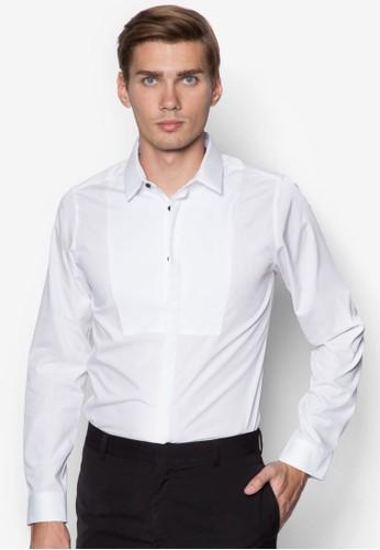 修身長袖襯衫, esprit香港門市服飾, 襯衫