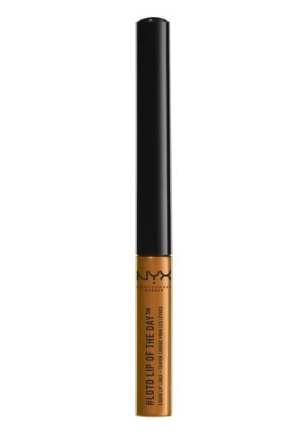 NYX Professional MakeUp orange Lip Of The Day Liquid Lip Liner - Hex 03114BEE8E8A57GS_1