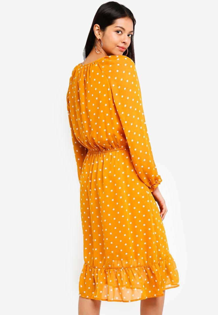 Woven Gold Inca Spot On Mini Raquel Winter Dress Cotton Leny wazwrq