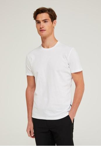 Sisley black Printed T-shirt 9694EAAEEB9099GS_1