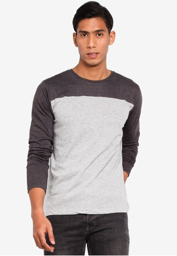 7ddfa50c7ace Buy Brave Soul Long Sleeve Crew Neck T-Shirt | ZALORA HK