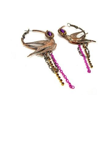 Glamorousky purple Vintage Earrings 4509DACF08EE74GS_1