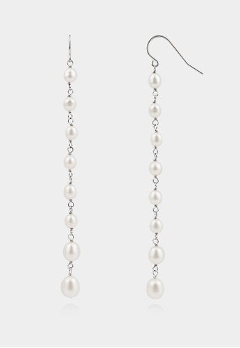 monojewelry CHAIN OF PEARLS EARRINGS 1F1ECAC83B0E2BGS_1