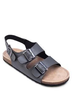 Sling Back Double Strap Sandals