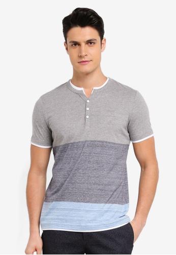 ESPRIT grey Short Sleeve T-Shirt 82C30AAAA98A3BGS_1