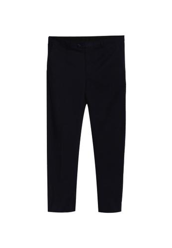 LC Waikiki 海軍藍色 Standard Fit Twill Suit 褲 BD324AA34FCCC8GS_1