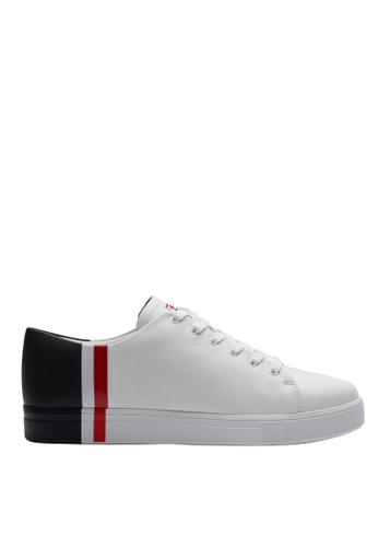Fila white Color Block Sneaker CA09ASH983E4E3GS_1