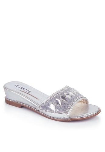 CLARETTE silver Clarette Sandal Party Doria Silver CL076SH71INKID_1