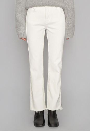 簡約棉質esprit tote bag加絨長褲, 服飾, 直腳褲