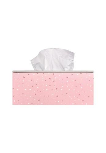 Klosh pink Wooden Tissue Box Holder - Boho Rainbow BC1E2HLEB4E2A3GS_1