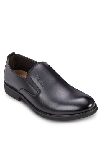 PU 亮面紳士皮鞋, 鞋,esprit mongkok 鞋