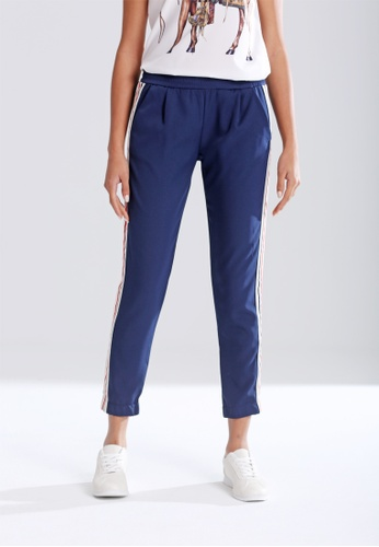 London Rag navy Casual Pants With Tapered Bottom C594AAA9BC9915GS_1