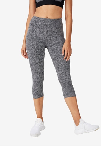 Cotton On Body grey Active Core Capris CO561AA44AJFMY_1