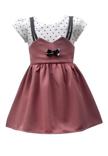 TWO MIX brown Two Mix Baju Anak Perempuan / Dress Anak Cewek 2987 5B62BKAB13F7F4GS_1