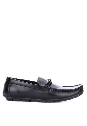 Italianos black Santiago Loafers 65342SH873BF3BGS_1