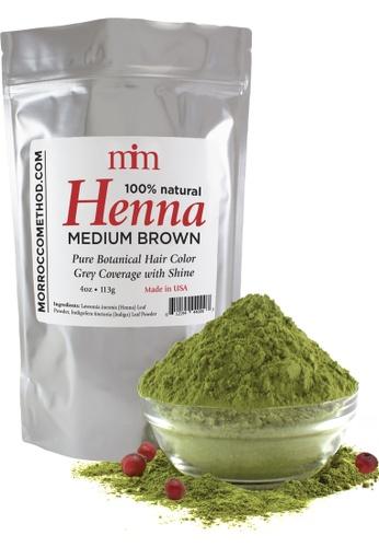 Morrocco Method Henna Hair Dye - Medium Brown 9B716BE7E0B0FFGS_1