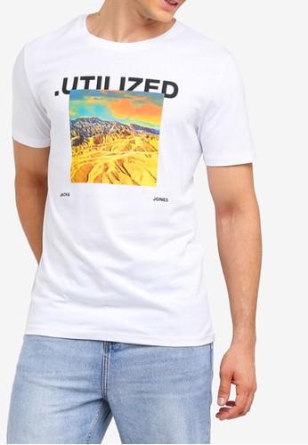 Jack & Jones white Cocondi T-Shirt C3439AAD6AD3B6GS_1